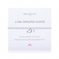 Joma Jewellery A Little AMAZING AUNTIE Silver Plated Beaded Bracelet